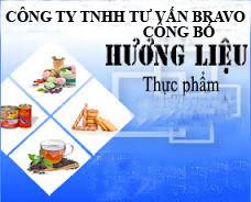 Công bố hương liệu thực phẩm