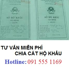 Nhập tách hộ khẩu ở Hà Nội